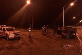 A raíz del llamado de un vecino, interceptaron a cazadores furtivos que viajaban en remís