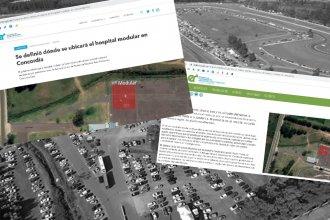 ¿De verdad emplazarán un hospital modular en el estacionamiento de un autódromo?