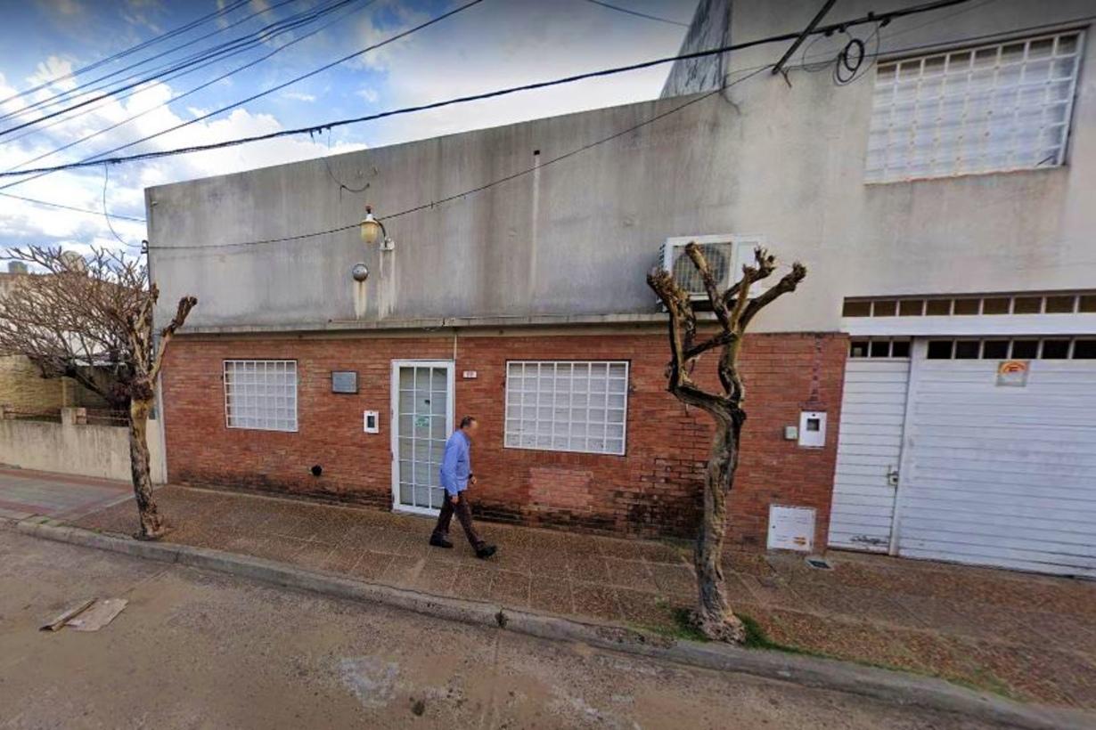 El Registro Automotor de calle Paraná. ee