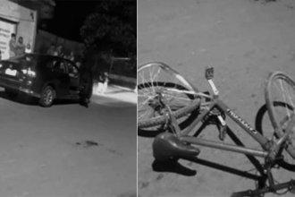 Salió de atrás de una camioneta y un auto lo atropelló: el menor de 13 años está en Terapia Intensiva