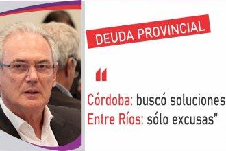 """Poniendo a Córdoba como ejemplo, Benedetti critica la """"incapacidad de gestión"""" del gobierno provincial"""