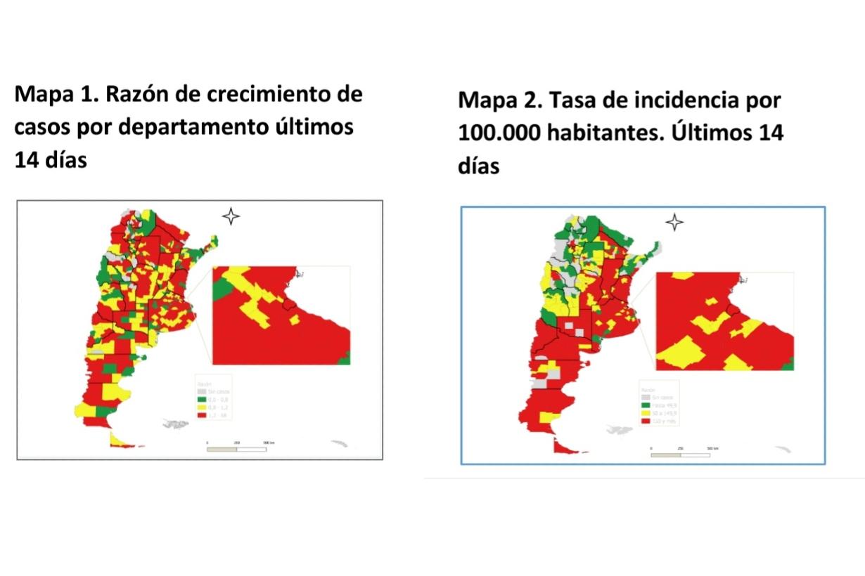 Las imágenes que compartió González García.