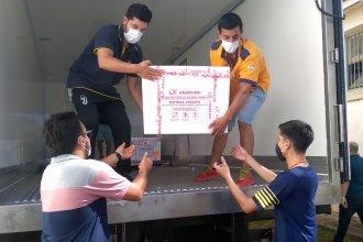 Llegaron a Entre Ríos 5000 dosis para la segunda aplicación de la vacuna Sputnik V