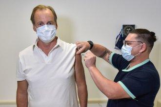"""""""La vacuna es muy necesaria"""", afirmó Bordet tras recibir la segunda dosis de la Sputnik V"""