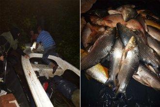 Guardaparques detuvieron a pescadores furtivos sobre el río Uruguay