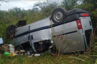 Una mujer murió tras impactante vuelco sobre una ruta de la provincia