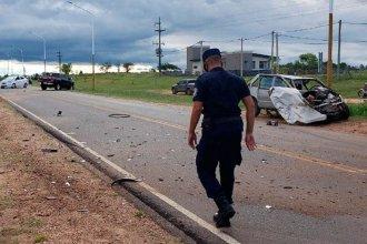 Intentaba ingresar a la ruta y no vio que venía una camioneta: se produjo un violento choque