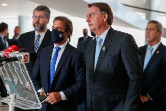 Lacalle Pou y Bolsonaro acordaron impulsar la hidrovía del Río Uruguay