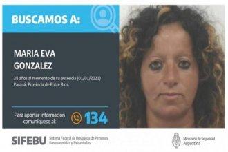 Ampliaron a nivel nacional la búsqueda de una paranaense, que no es vista desde el 1° de enero