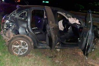 Sobre la autovía Artigas, un gendarme murió al despistar en su vehículo