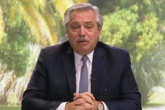 Con elogios a Colón, el presidente Alberto Fernández dejó inaugurado el Hospital Modular
