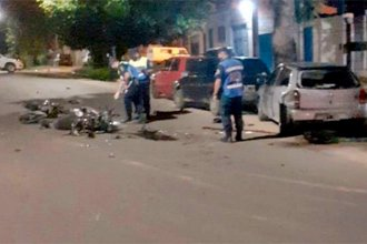 En violento choque, que involucró a 2 motos y 3 autos, murió un joven de 21 años