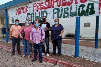 Un hospital clave para atender a pacientes con COVID-19 tiene a sus trabajadores en conflicto
