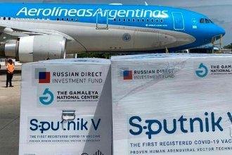 Acerca de los vuelos a Rusia en procura de vacunas