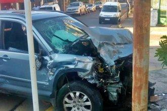 Murió en un choque entre dos camionetas, en pleno centro de Concordia