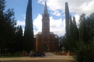 Vuelo rasante por la localidad entrerriana que más religiosos dio al país
