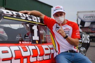 Un accidente en la ruta retrasó la llegada de Werner, que se perdió el primer entrenamiento en La Plata