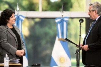 Tras la renuncia de González García, Carla Vizzotti juró como nueva ministra de Salud