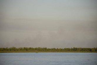 """Detectaron nuevos focos de incendio en las islas del Paraná: ecologistas advierten """"falta de control"""""""
