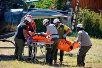 Piden dadores de sangre para entrerriano herido en el Volcán Lanín
