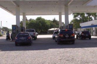 Delincuentes armados se llevaron una millonaria suma de una estación de servicios