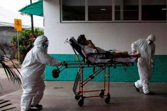 Hay colapso hospitalario en zona de Brasil fronteriza con Argentina