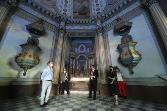 Bordet y el ministro de Cultura firmaron el convenio para recuperar el Palacio San José