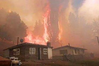 Juntan donaciones para los afectados por los incendios en Chubut y Río Negro