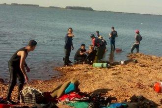 Hallaron el cuerpo del joven desaparecido en el lago de Salto Grande