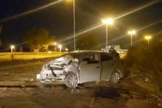 Exintendente falleció en un accidente vial: el auto en el que circulaba impactó contra una columna