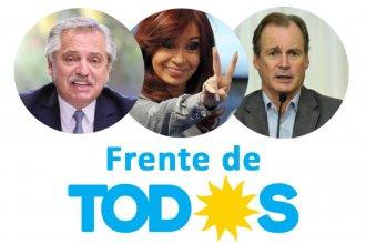 """En línea con Alberto, Cristina y Bordet, buscan """"consolidar"""" el Frente de Todos de cara a las legislativas"""
