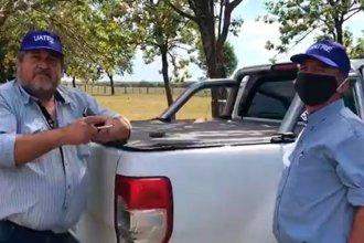 """""""Están violando mi propiedad"""": tenso cruce entre una productora entrerriana y miembros de un gremio rural"""