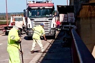 Tras un intenso trabajo, se normalizó el tránsito en el Complejo Zárate – Brazo Largo