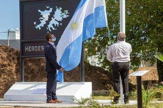"""""""Héroes de Malvinas"""", el homenaje de San José a 39 años de la gesta"""