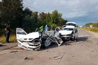 Familia entrerriana protagonizó un trágico accidente en Buenos Aires: murió un hombre y su hijo está grave