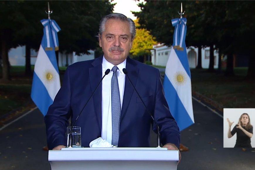 Alberto Fernández anunció nuevas restricciones hasta el 30 de abril