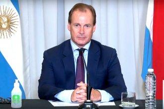"""Bordet elogió al presidente por la """"Ley de Emergencia Covid"""": """"Es un gesto importante"""""""
