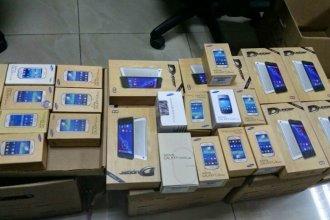 Intentaban ingresar millonario cargamento de celulares de contrabando a Entre Ríos