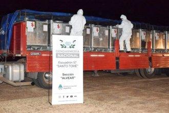 Impresionante hallazgo: transportaban 9 toneladas de materia prima para producir estupefacientes