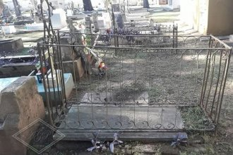 La tumba de un intendente olvidado: llegó de España y murió en ejercicio