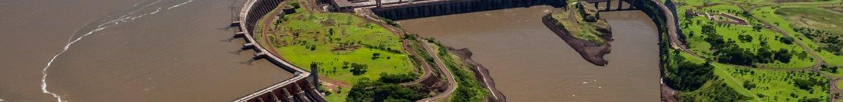 Represa de Itaipú.