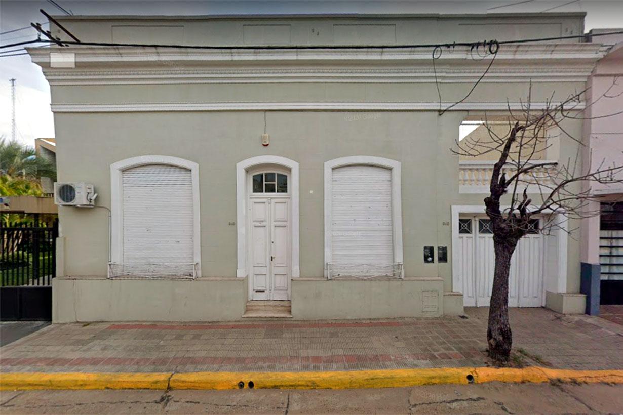 San Luis 840, sede de COPNAF Concordia