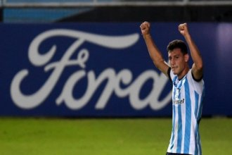 Racing, de la cabeza por el entrerriano Chancalay