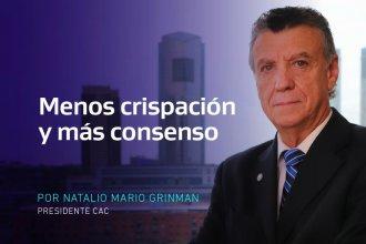 Grinman llama a la concertación para superar el estancamiento de la última década