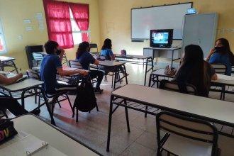 Para montar aulas virtuales, necesitan la donación de televisores en desuso