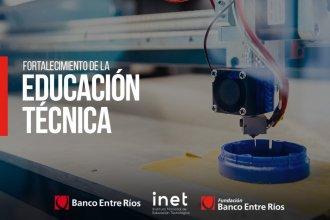 Educación técnica, empleo y tecnología: Banco Entre Ríos patrocinará proyectos en 4 líneas de acción