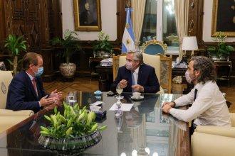 Bordet, en la Casa Rosada: motivos de un encuentro a solas con Fernández y Cafiero