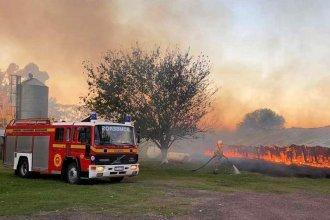 Incendio consumió por completo dependencias de una escuela agrotécnica