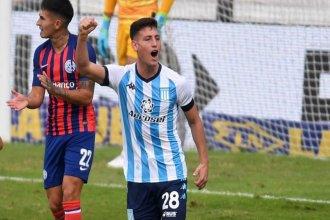 Chancalay, figura y goleador: Racing pegó el zarpazo y eliminó a San Lorenzo