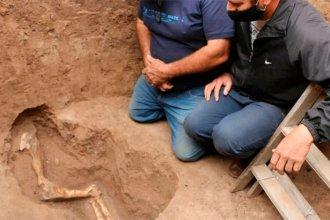Construían un pozo ciego y encontraron huesos de animales de 10.000 años de antigüedad